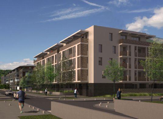 Appartement n b103 les senioriales en ville de bassens for Piscine de bassens