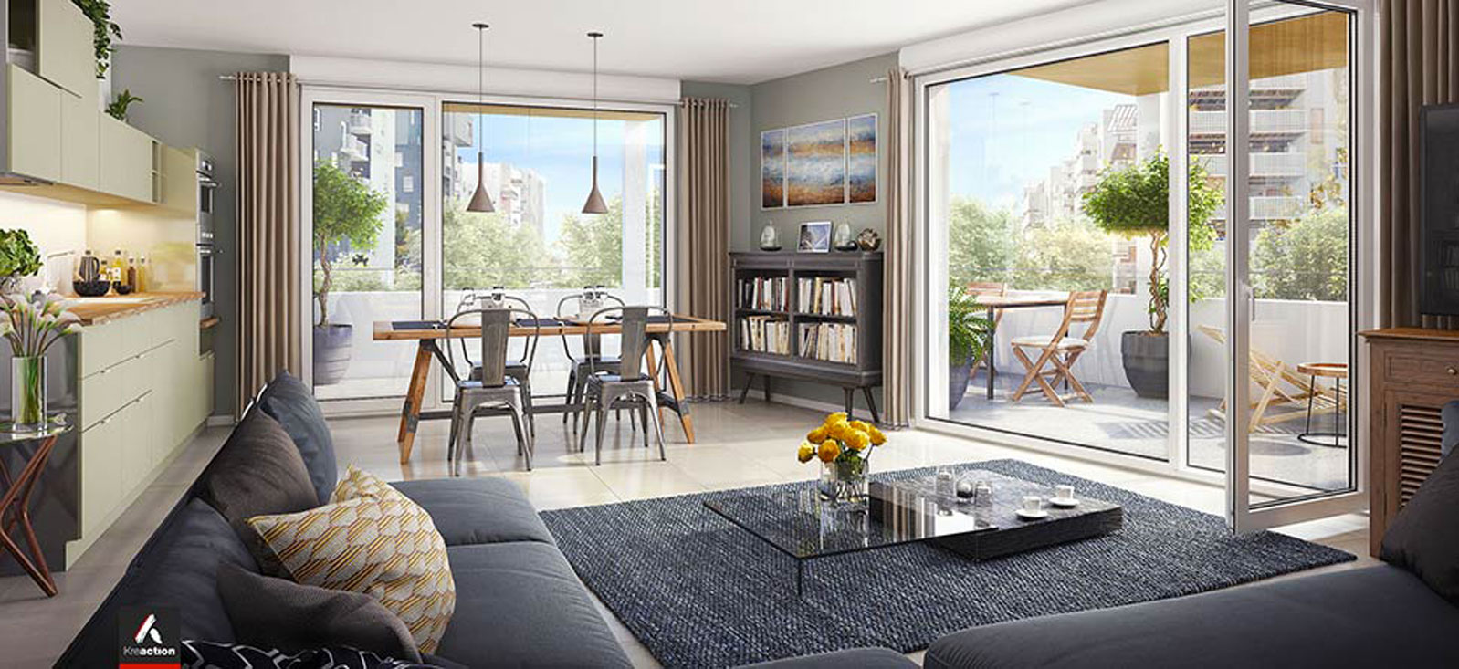dedicace ginko programme neuf bordeaux. Black Bedroom Furniture Sets. Home Design Ideas