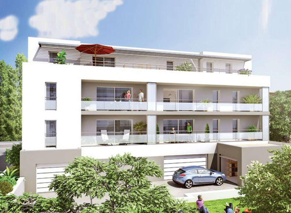 Azur a programme neuf rennes for Arch immobilier rennes