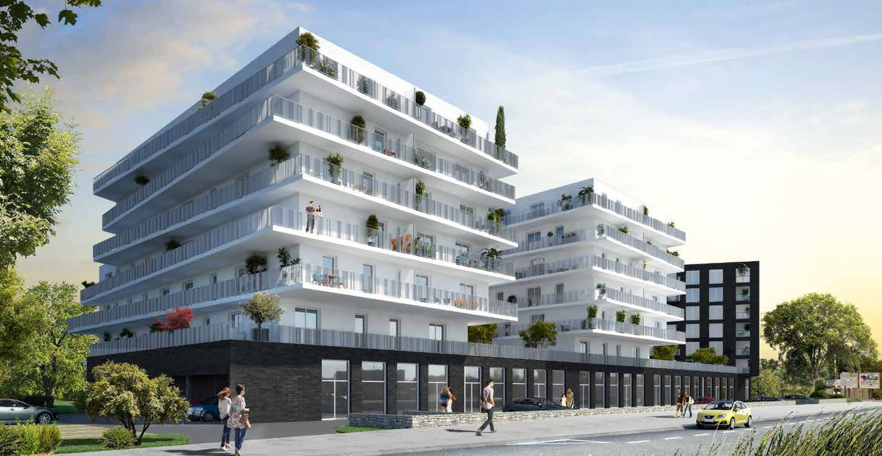 Onyx programme neuf nantes for Immobilier logement