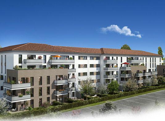 appartement n b003 les jardins du pastel t1 de m toulouse nord secteur 3. Black Bedroom Furniture Sets. Home Design Ideas