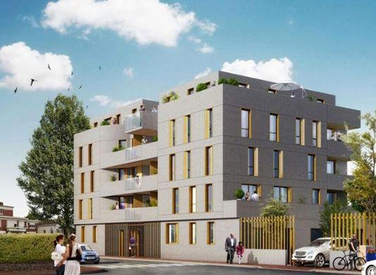 appartement n 32 greystone t2 de m lille. Black Bedroom Furniture Sets. Home Design Ideas