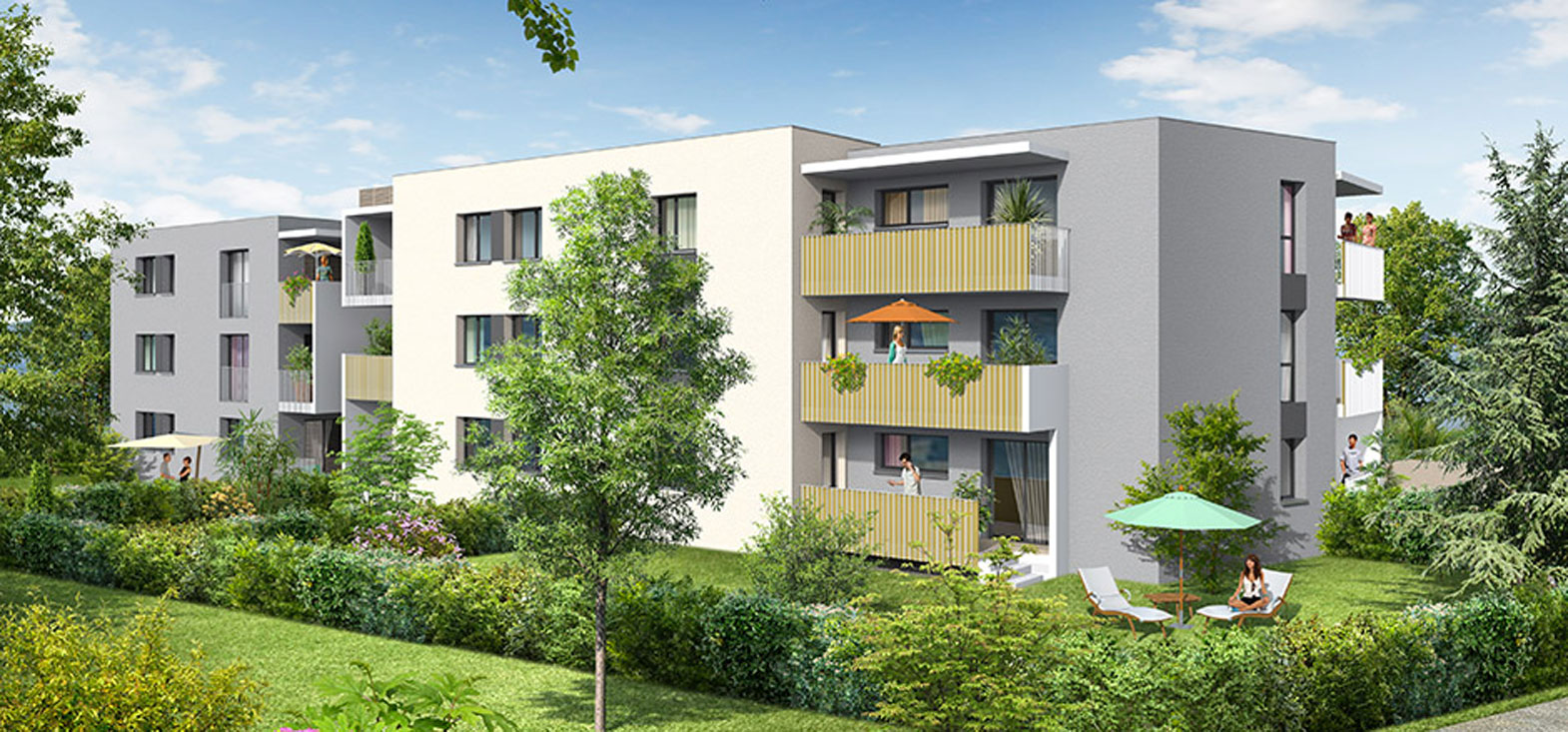 Les clos programme neuf reignier for Programme neuf
