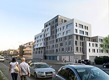 Residence L´or Bleu : programme neuf à Amiens