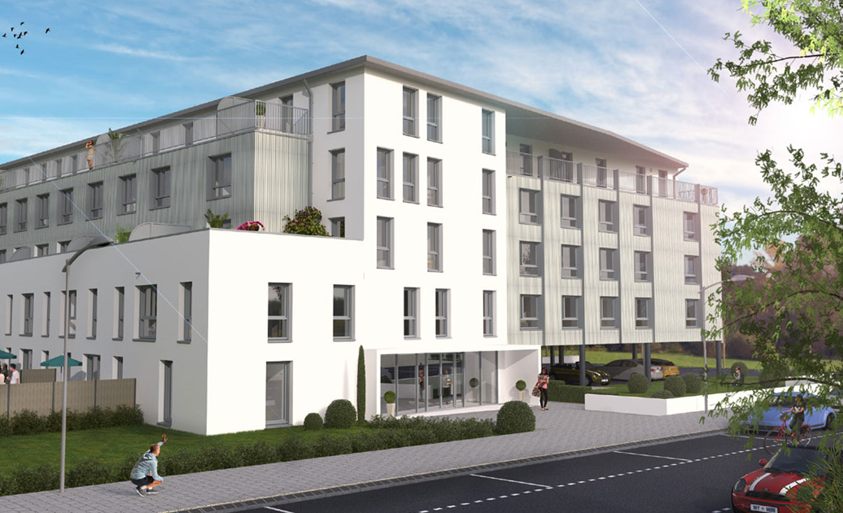 Le xv programme neuf talence for Logement immobilier