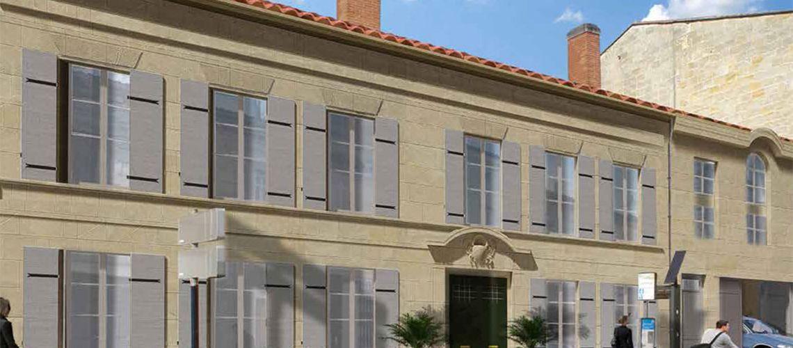 Les jardins d albret programme neuf bordeaux for Le jardin d alphonse