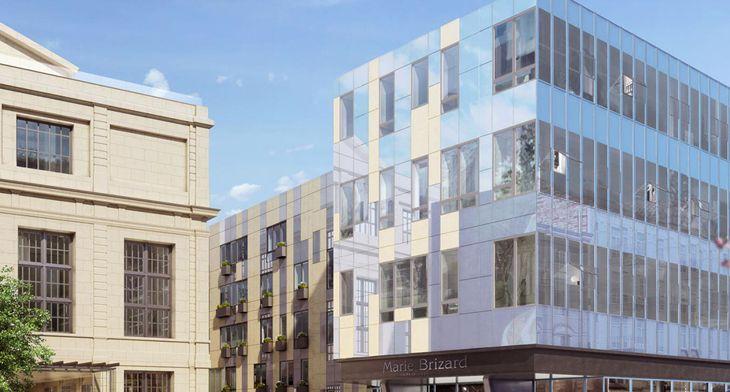 Le palais gallien fondaudege tr1 programme neuf bordeaux for Immobilier bordeaux centre ville