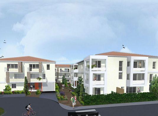 appartement n a19 les 3 m lodies t3 de m toulouse est secteur 4. Black Bedroom Furniture Sets. Home Design Ideas