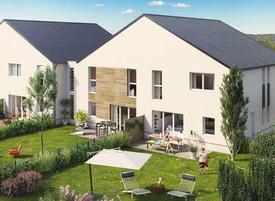 Duplex n b104 les villas de la loire t3 de m for Garage st herblain bourg