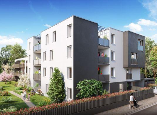 appartement n a206 le hussard noir t2 de m toulouse nord secteur 3. Black Bedroom Furniture Sets. Home Design Ideas