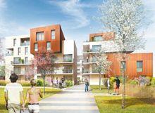 Les Terrasses du Lac : programme neuf à Strasbourg