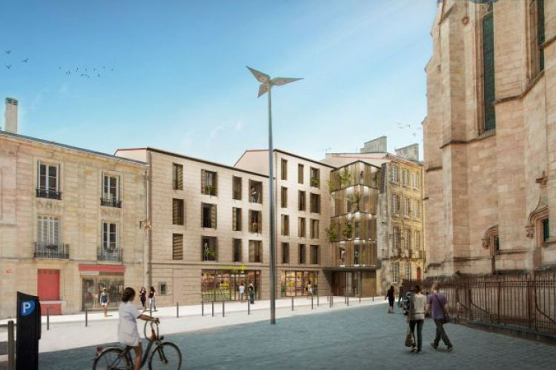 H ritage saint michel programme neuf bordeaux for Immobilier neuf gironde