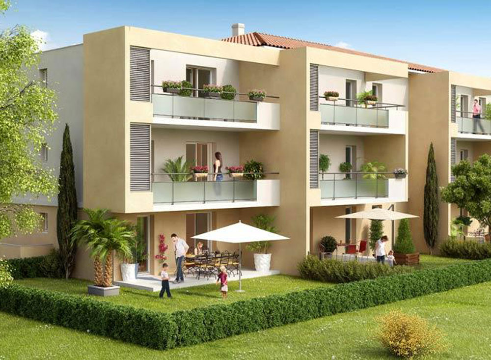 Domaine frascati programme neuf ch teauneuf les for Programme logement neuf