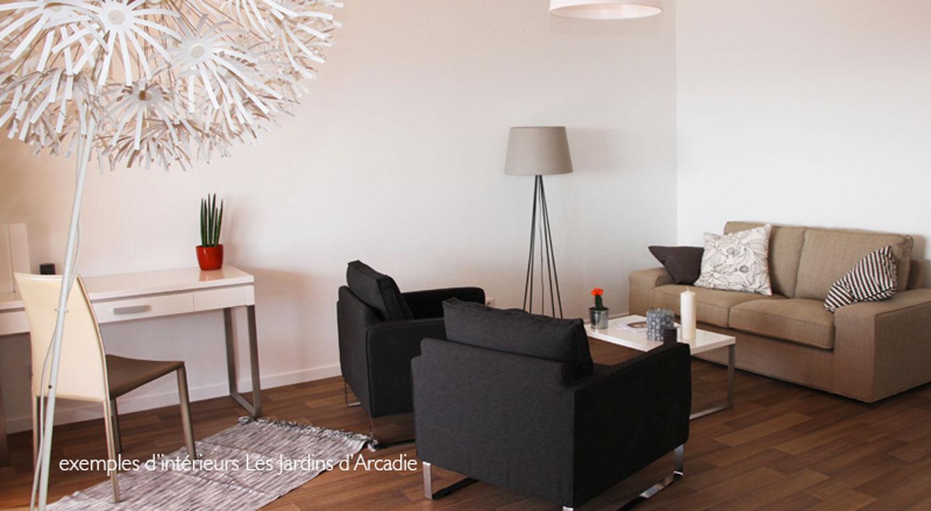 les jardins d arcadie cannes programme neuf cannes. Black Bedroom Furniture Sets. Home Design Ideas