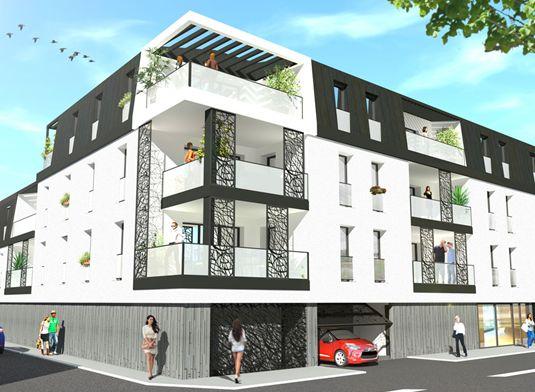 Appartement n 301 city t4 de m la roche sur yon - City zebre la roche sur yon ...