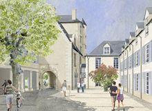 Hotel D´estissac : programme neuf à Poitiers