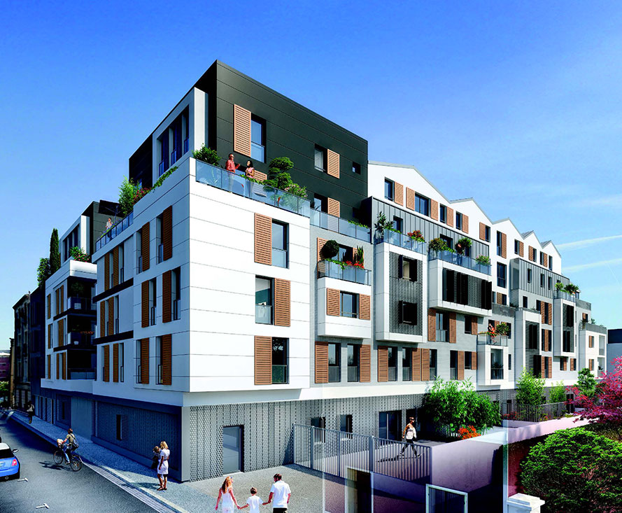 L\'immobilier neuf à Bois-Colombes : 2 programmes neufs