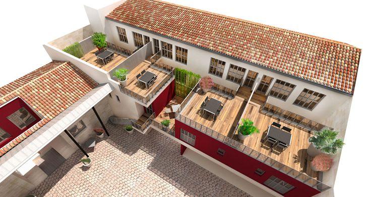 Le clos de la bastide programme neuf bordeaux for Appartement neuf bordeaux bastide