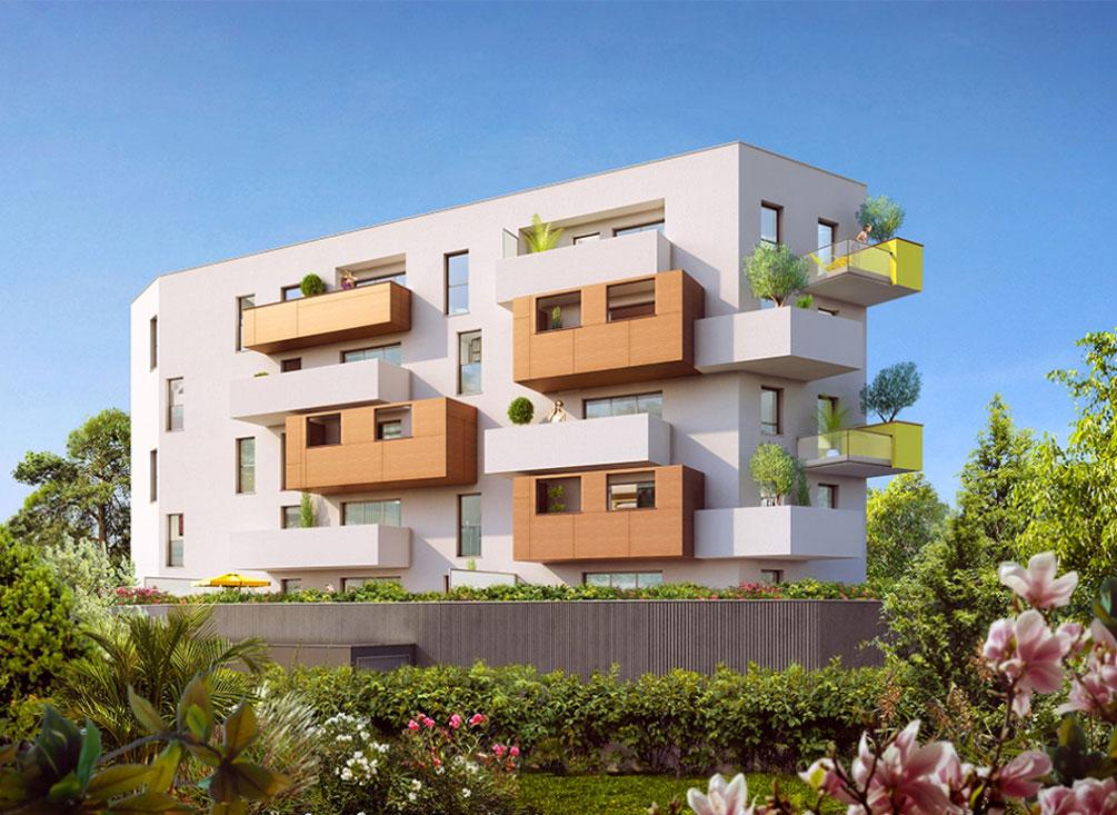 Klo residence programme neuf montpellier for Residence neuf