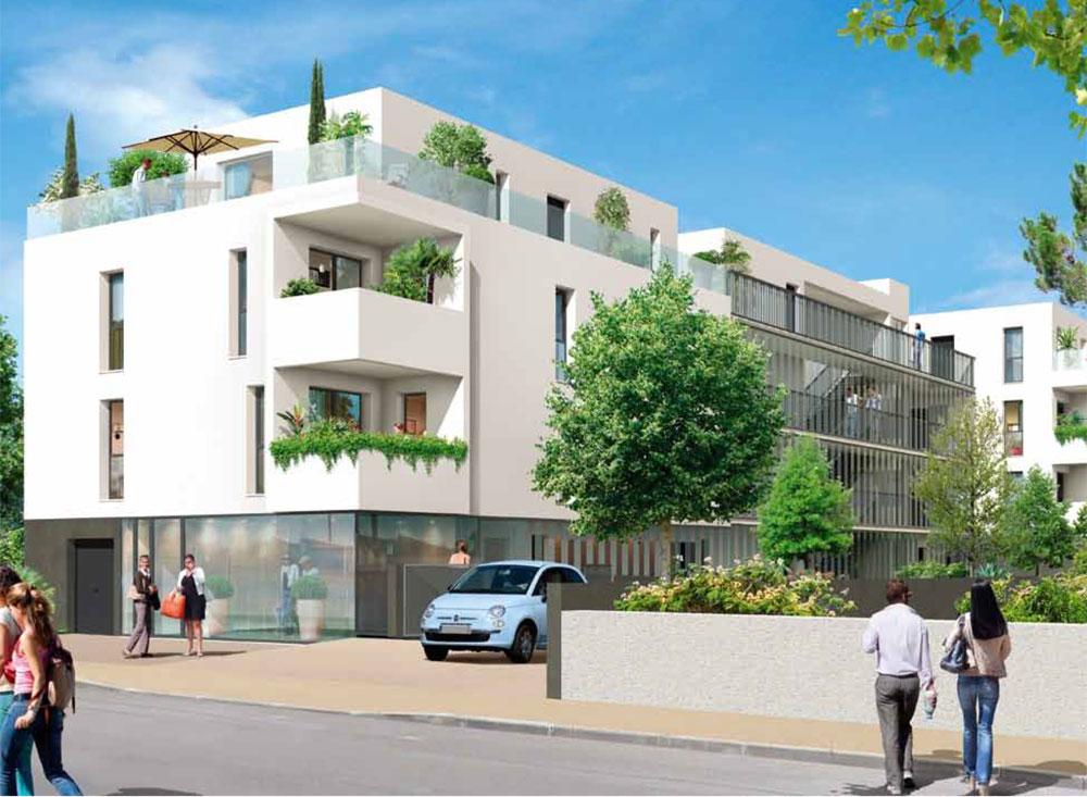 Primavera programme neuf bordeaux 23 logements neufs for Logement neuf bordeaux