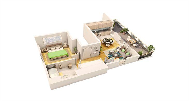 Exemple-d'appartement (promoteur Spirit (groupe))