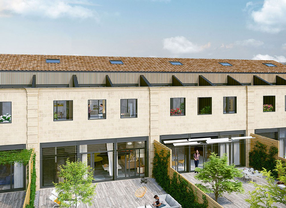 Avant garde programme neuf bordeaux for Avant premiere immobilier neuf