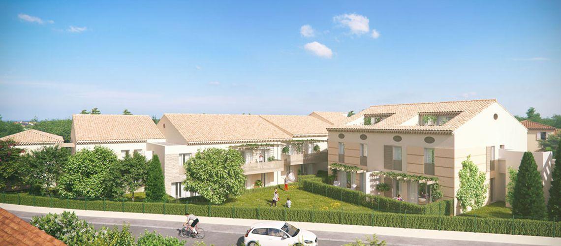 Le hameau des carriers programme neuf salon de provence - Programme immobilier salon de provence ...