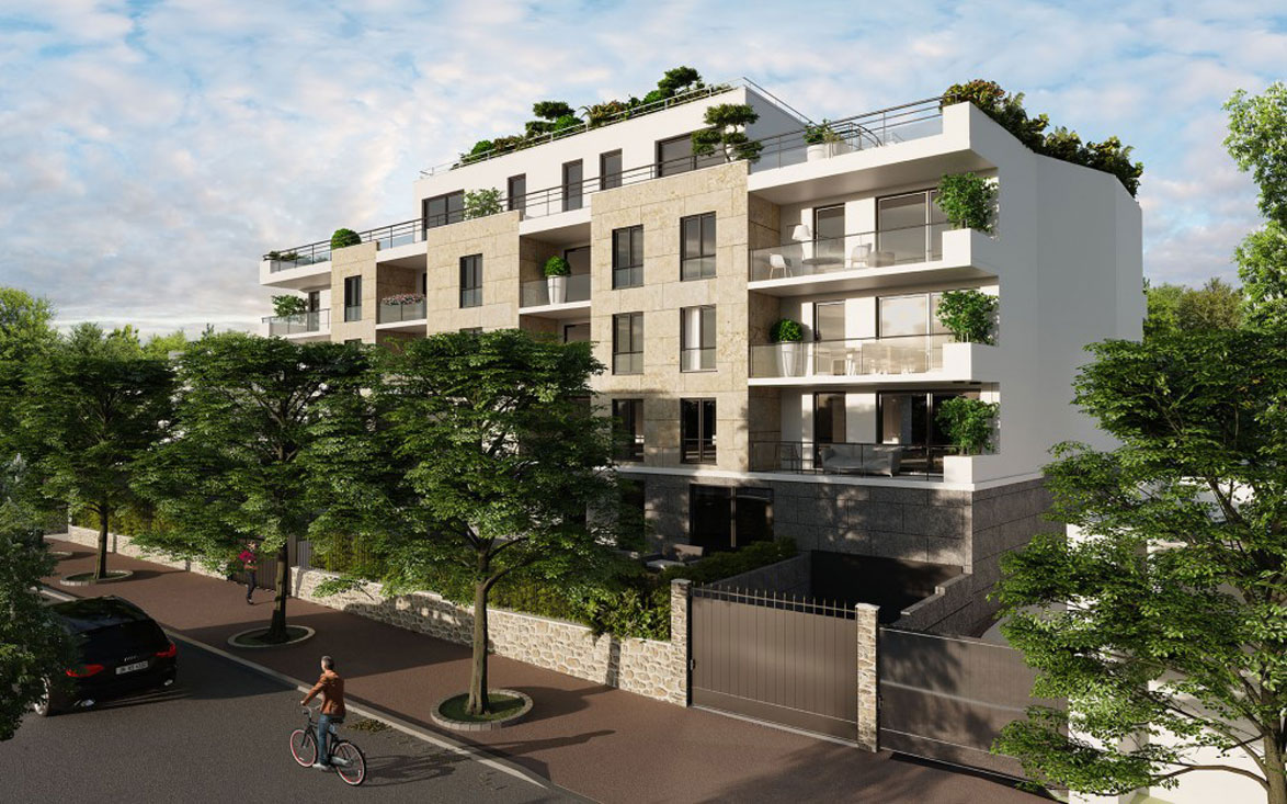 95 boulevard republique programme neuf saint cloud for Piscine saint cloud