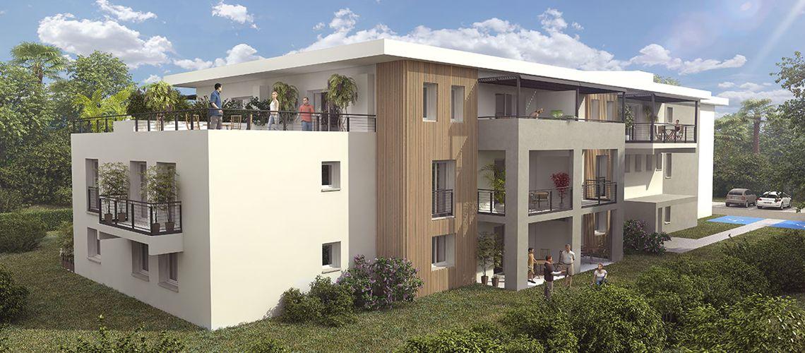 le parc de saint hubert programme neuf bayonne. Black Bedroom Furniture Sets. Home Design Ideas