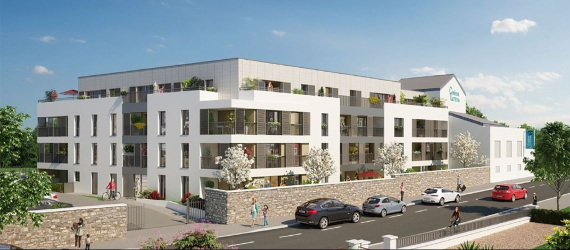 Coeur village programme neuf saint herblain for Garage st herblain bourg
