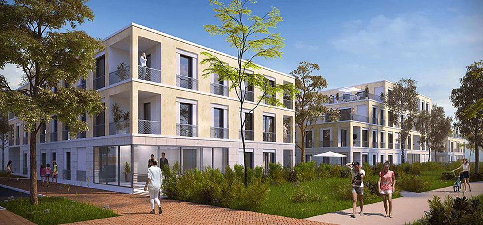 Pavillon vert programme neuf bondoufle for Prix pavillon neuf