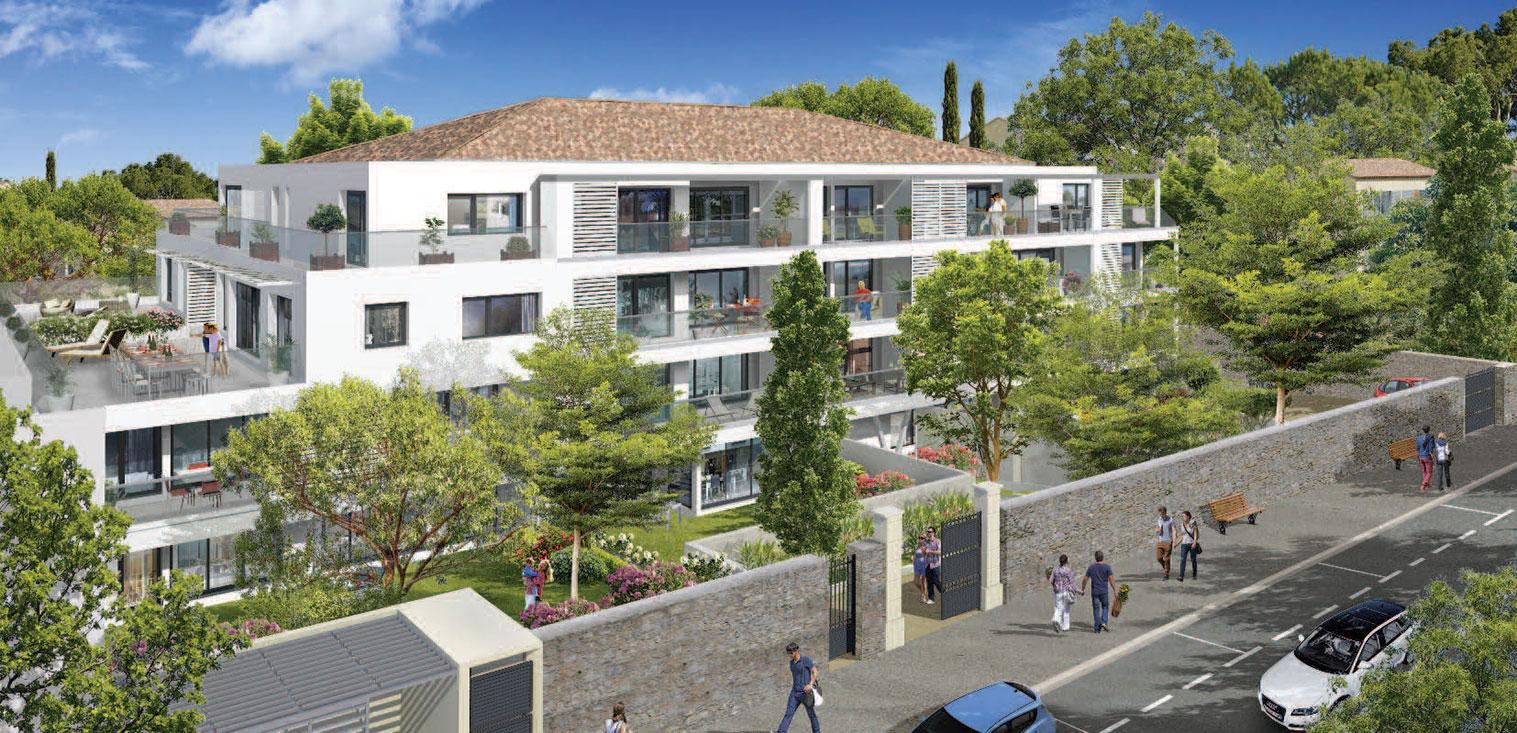 Villa eugenie programme neuf marseille for Programme neuf