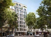 Mistral à Paris intra-muros 14ème arrondissement de l'Observatoire
