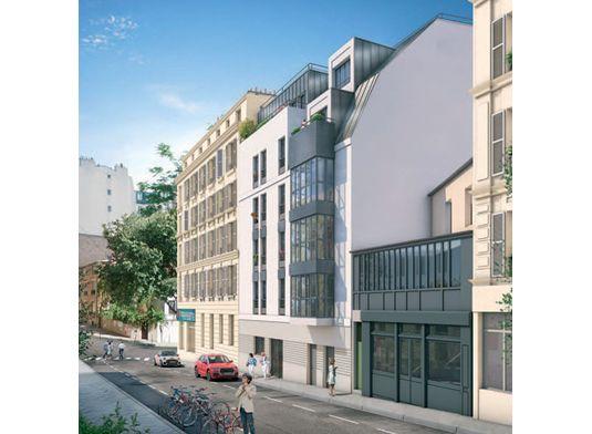 appartement n 10 le belleville t3 de m paris 20 me arrondissement de m nilmontant. Black Bedroom Furniture Sets. Home Design Ideas