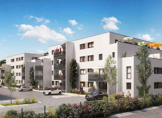 appartement n 01ca26 ligne pure t3 de m perpignan. Black Bedroom Furniture Sets. Home Design Ideas