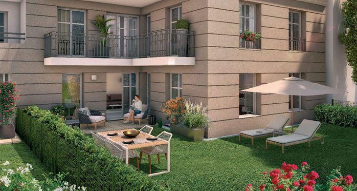 empreinte programme neuf la garenne colombes. Black Bedroom Furniture Sets. Home Design Ideas