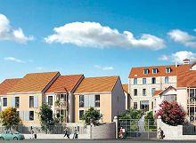 Le Rive Gauche - Beaumont sur Oise : programme neuf à Beaumont-sur-Oise