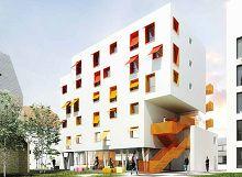 Résidence étudiante Jardin Secret (1) : programme neuf à Dijon