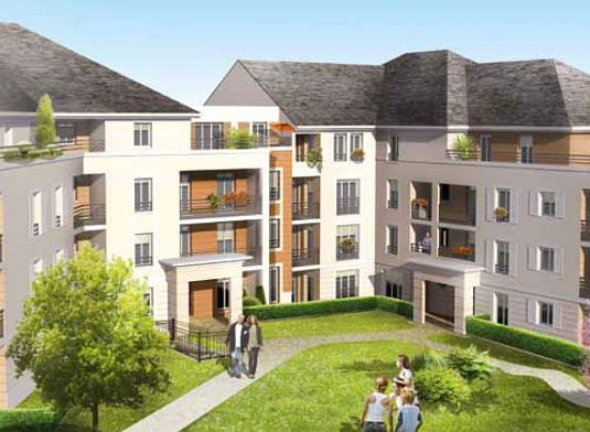 Appartement neuf t3 n 224 de m orl ans est for Appartement t3 neuf