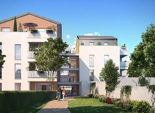 Appartement n 201 32b rue chirat t2 de m for Garage rue des bienvenus villeurbanne