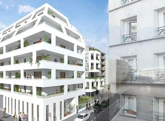 65 rue de meaux programme neuf paris for Garage rue de meaux vaujours