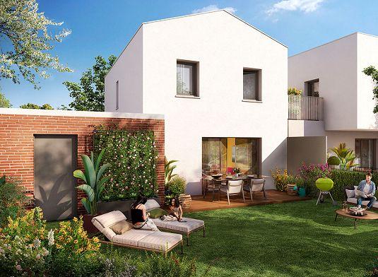 maison n j02 green line t4 de m plaisance du touch. Black Bedroom Furniture Sets. Home Design Ideas
