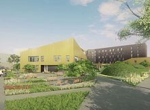 L'Institut de Réadaptation d'Achères : programme neuf à Achères