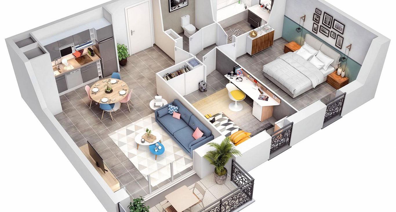 Vue-3D-d'appartement