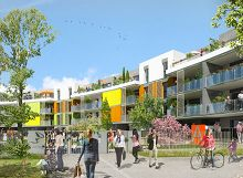 New Park - Ilot ND : programme neuf à Saint-Genis-Pouilly