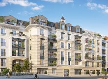 Villa Carnot : programme neuf à Clamart