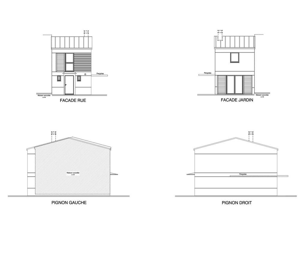 Maison n 70 les jardins des impressionnistes t3 de for T meubles mery sur oise