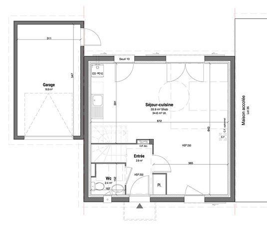 Maison n 36 les jardins des impressionnistes t4 de for T meubles mery sur oise
