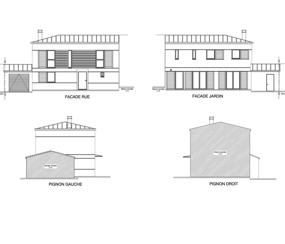 Maison n 57 les jardins des impressionnistes t5 de 119 for T meubles mery sur oise