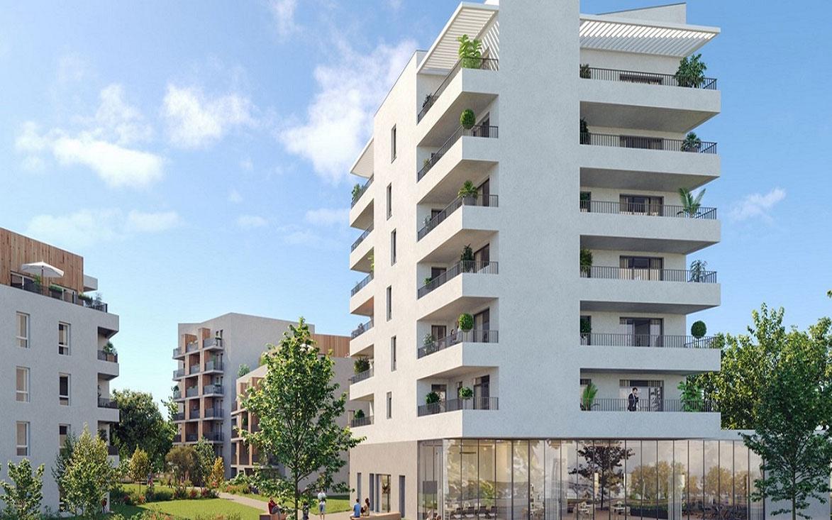 Appartement Avec Jardin Nantes résidence bloom, programme neuf à nantes